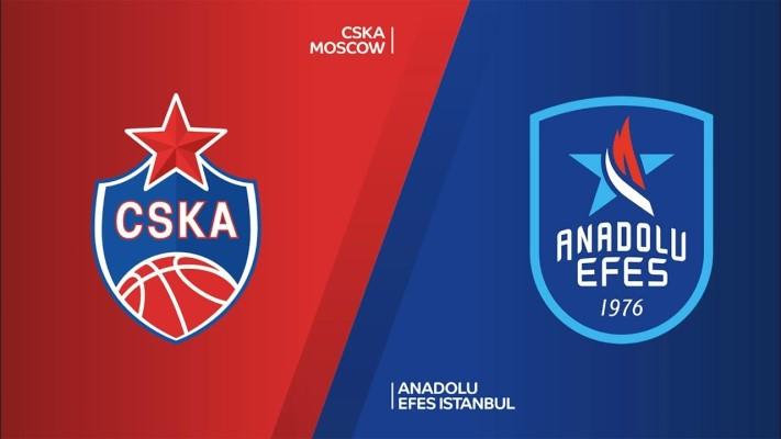 Anadolu Efes CSKA Moskova Deplasmanında